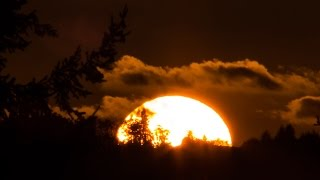 Forest Ridge - September 30, 2014 - Sunset Time Lapse
