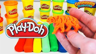Learn Colors with Play Doh Animal Names for Kids Best Educational Learning Video Playdoh Fun!