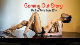 Coming Out Story of Mr. Gay World India Anwesh Sahoo