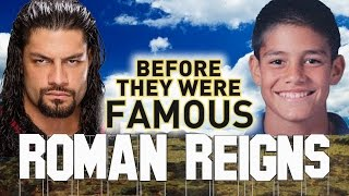 ROMAN REIGNS - Before They Were Famous - WWE Wrestler Highlights