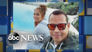Jennifer Lopez and Alex Rodriguez are engaged   GMA
