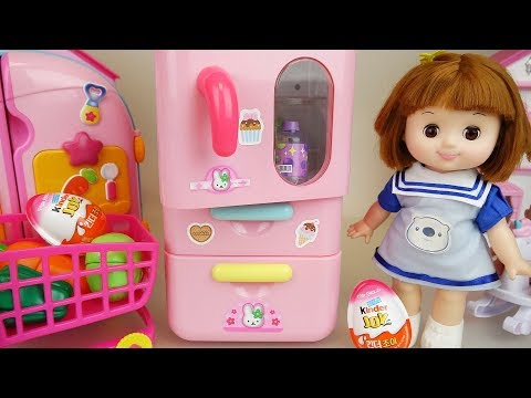 Xxx Mp4 Baby Doll Pink Refrigerator Surprise Eggs And Kitchen Toys Play 3gp Sex