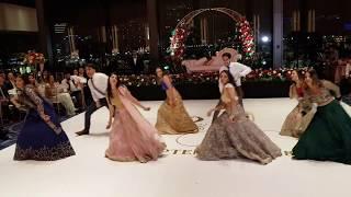 BEST INDIAN BOLLYWOOD WEDDING RECEPTION DANCE 2018