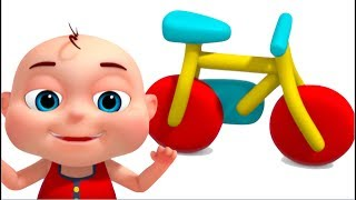 Bicycle Assembly Video | Vehicle Construction For Kids | Videos For Toddlers | Surprise Eggs