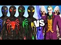 Team Spider-Man (Anti Oak Suits) vs Joker dan Joker Thugs - Epic Battle