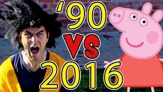 ANNI 90 VS 2016 - Le Differenze - iPantellas