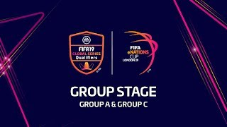 FIFA eNations Cup 2019 - Group Stage (Group A and Group C)