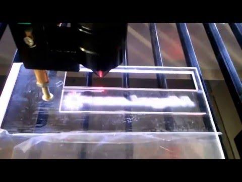 Pantografo Laser CO2 ML4060 60W Grabado y corte en acrilico