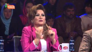 Rameen and Omar Sharif in afghan star best performance of the year Top 4 / - ۴ بهترین