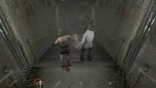 Silent Hill 4 - Burping nurses falling down stairs