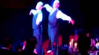 Roman and Slava, the tap dancing twins