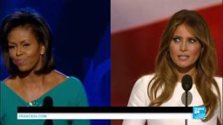 Republican National Convention: Melania Trump hit by plagiarism controversy