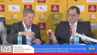 Stuart Baxter's plans for Bafana
