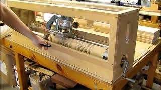 Router Crafter Lathe