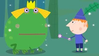 Le Petit Royaume de Ben et Holly Le Prince Grenouille 🐸  episode complet en français   Dessin animé