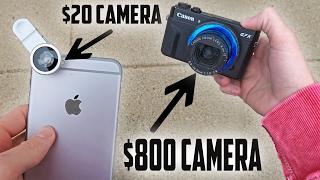 $20 Camera VS $800 Camera!