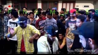 Popping MUKESH #had a great all stlye dance cypher at BOOM BLOC  In ST.George's school