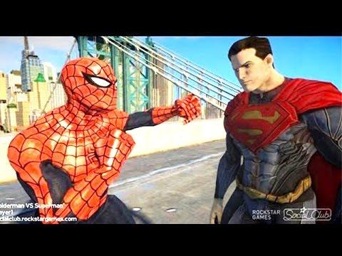 Xxx Mp4 Spiderman VS Superman EPIC Spider Man 3gp Sex