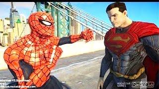 Spiderman VS Superman EPIC spider-man