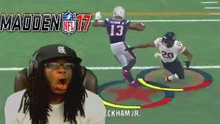 99 OVERALL ODELL BECKHAM JR BREAKING ANKLES! Madden 17 Ultimate Team Gameplay