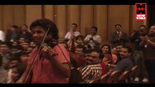 Balabhaskar Violin Fusion Amazing Performance With Stephen Devassy | Malayalam Stage Show 2016