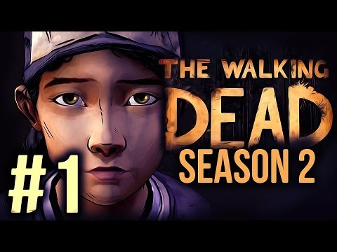 The Walking Dead: Season 2 Gameplay - Part 1 - Playthrough - CLEMENTINE IS BACK!