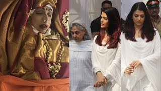 Emotional Aishwarya Rai Bachchan Breaks Down Like Never Before At Sridevi