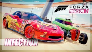 Forza Horizon 3 - Hot Wheels Infection, Pushing People Off, Sneezes