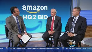 Miami-Dade Mayor Carols Gimenez and Broward Commissioner Michael Udine Discuss Amazon 2.0