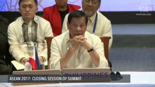 ASEAN 2017: Closing session of summit