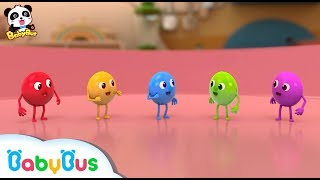 ★NEW★5兄弟 お外でプール遊びしたよ!   赤ちゃんが喜ぶアニメ   動画   BabyBus