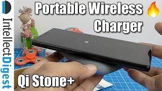 Portable Wireless Charger Power Bank QiStone+ Review With Unboxing