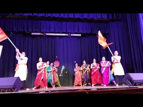 Mi marathi, Gudhipadwa 2018 - Marathi Coventry Ladies group performance