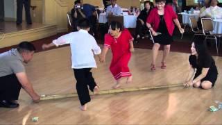 Kids dancing Tinikling
