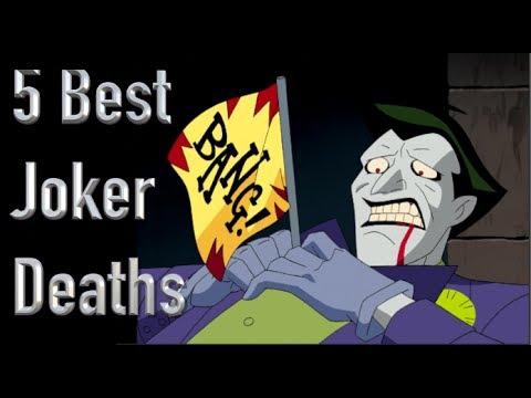 The 5 Best Deaths Of The Joker