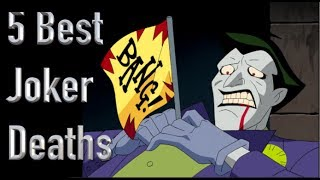 The 5 Best Deaths Of The Joker