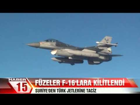 F-16'LARA KİLİTLENDİ