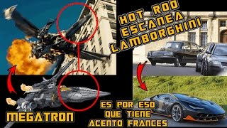 HOT ROD Transformers The Last Knight - MEGATRON y su modo alterno del 2007?