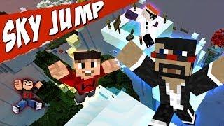 Drunk Minecraft #57 | JUMPING ON CAPTAINSPARKLEZ
