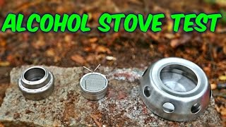 3 Alcohol Stoves put to the Test