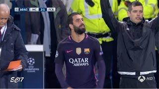 Arda Turan vs Manchester City (Away) (01/11/2016) 720p HD by EC17