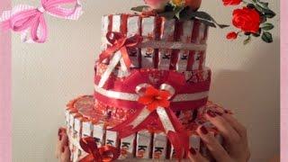 Торт из киндеров как сделать своими руками