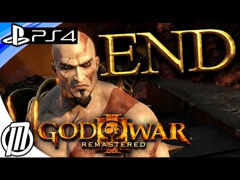 God of War 3 PS4 Remastered: ENDING - ZEUS BOSS BATTLE (1080p)