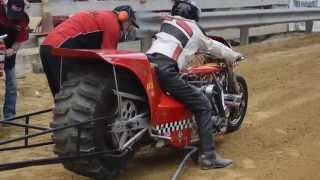 Top Fuel Motorcycle Dirt Drag