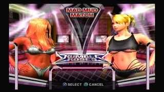 Rumble Roses Match 03 - Aisha Vs. Miss Spencer