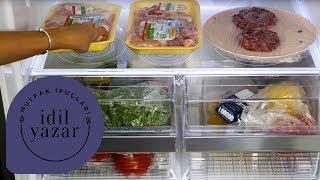 Buzdolabı Nasıl Düzenlenir ?   Pratik Mutfak - Bölüm 17