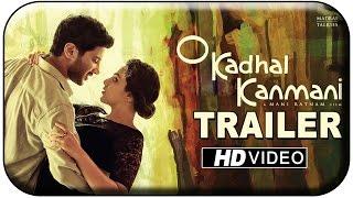 OK Kanmani Official Trailer | O Kadhal Kanmani | Mani Ratnam | A R Rahman | Dulquer | Nithya Menen