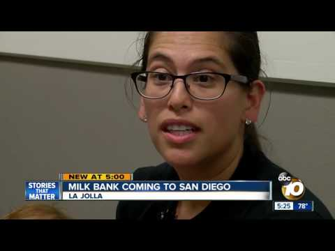 Breast milk donor bank to debut in San Diego