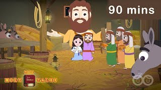 90 mins Gospel Compilation I  New Testament Stories | Animated Children's Bible Stories