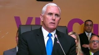 "VP Mike Pence ""Assad And His Patrons Would Do Well Not To Test Our Resolve!"""
